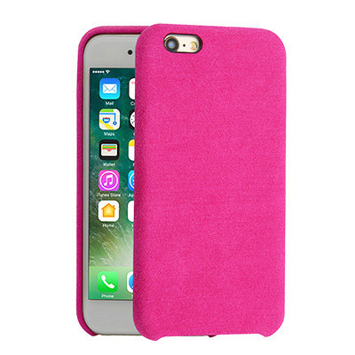 separation shoes 8e594 79bf4 Alcantara Cover for iPhone 8 / 7 / 6 - Dark Pink