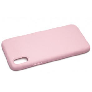 iPhone X Silicone Case - Light Pink