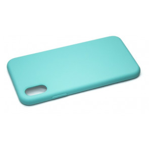 iPhone X Silicone Case - Aqua