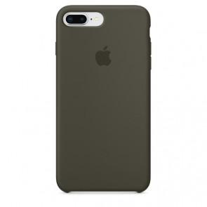 iPhone 8 / 7 Plus Silicone Case - Dark Olive