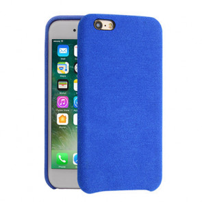Alcantara Cover for iPhone 8 / 7 / 6 Plus - Light Blue