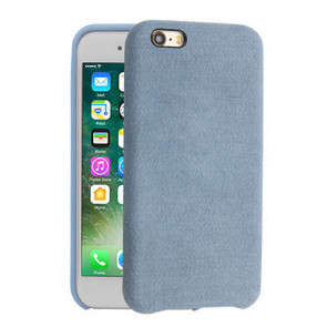 Alcantara Cover for iPhone 8 / 7 / 6 Plus - Lilac