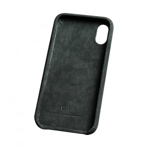 Alcantara Black Case for iPhone X