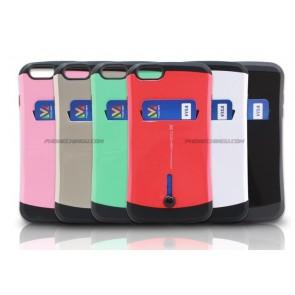 LG G4 Slim Tough Card Holder Wallet Case