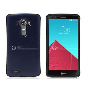 LG G4 Leather Back Bumper Case
