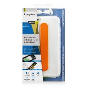 Simplism iPhone 6 Hand Strap Case White