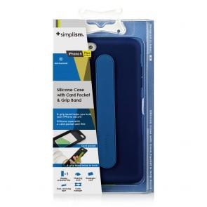 Simplism iPhone 6 Hand Strap Case Blue