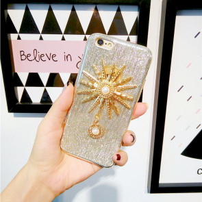 Sparkly Girl Glitter Bling Case for iPhone 6 6s Plus