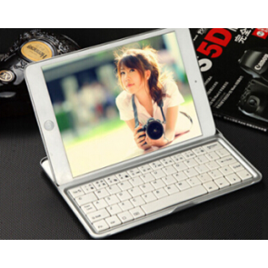 Wireless Bluetooth Keyboard and Stand for iPad Mini and iPad Mini 2 Retina
