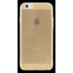 Rock iPhone 6 Plus 5.5 inch TPU Case Clear Gold
