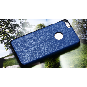 Real Leather Folio Wallet Case for iPhone 6 Plus