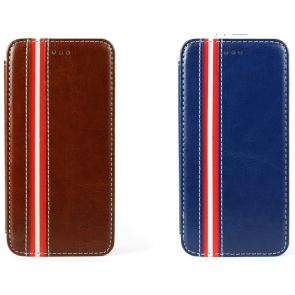 Leather Stripe Fashionable iPhone 6 Plus Case