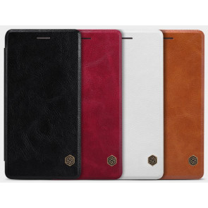 Moto G (2015) 3rd Gen Genuine Leather Flip Wallet Case