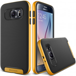Verus Yellow Galaxy S6 Case Crucial Bumper Series