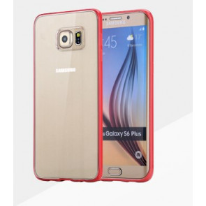 S6 Edge Plus Rock Protective Bumper Clear Back Case