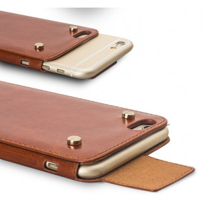 Elegant Leather Buckle Case for iPhone 6