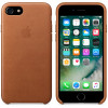 Leather Case for Apple iPhone 7 / 8 Saddle Brown