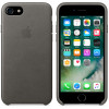 Leather Case for Apple iPhone 7 / 8 Storm Gray