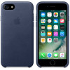 Leather Case for Apple iPhone 7 / 8 Midnight Blue