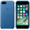 Leather Case for Apple iPhone 7 / 8 Sea Blue