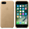 Leather Case for Apple iPhone 7 / 8 Tan