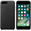 Leather Case for Apple iPhone 7 / 8 Plus Black