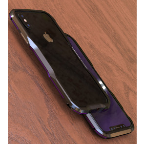 Luphie Protective Stealth Bumper Metal Case iPhone X