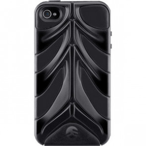 SwitchEasy CapsuleRebel Spine Case for iPhone 4 4S Black