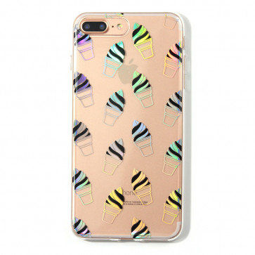 Shiny Ice Cream iPhone X Case